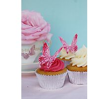 Butterfly Cakes Photographic Print