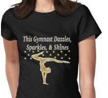 GORGEOUS GOLD GYMNAST Womens Fitted T-Shirt