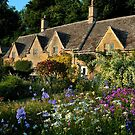 Ancient Cotswold Cottages at Bibury. by rodsfotos