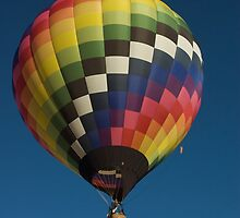 Colored Hot Air Balloon by Luann wilslef