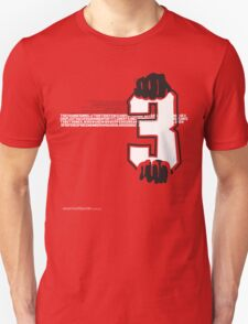 T-Shirt 3/85 (Public Office) by Renald Vettese T-Shirt