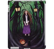 LOST IN A HAUNTED FOREST iPad Case/Skin