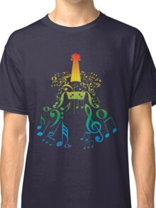 Violin with Notes2 Classic T-Shirt