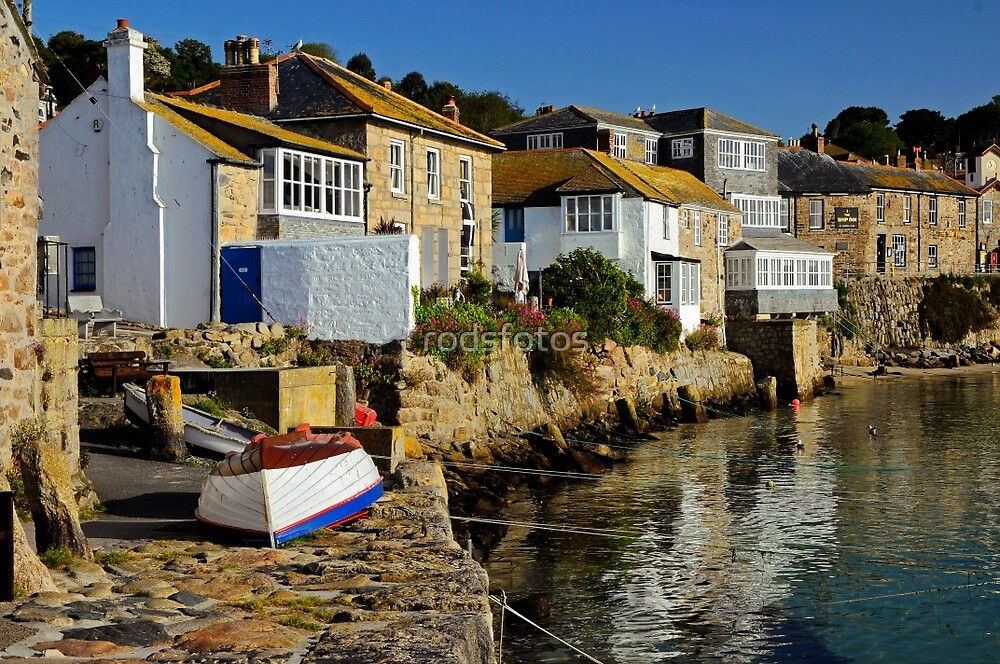 Early Morning at Mousehole, Cornwall by rodsfotos
