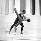Dancing the Jefferson Memorial by Jeff Holcombe