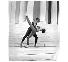 Dancing the Jefferson Memorial Poster