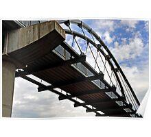 Foot Bridge Poster
