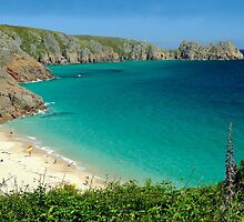 Porthcurno, Cornwall by rodsfotos