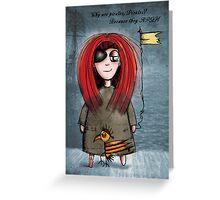 pirates arrgh! Greeting Card