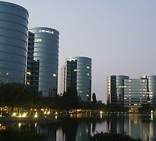 Oracle Headquarters in Redwood City by fototaker