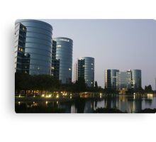 Oracle Headquarters in Redwood City Canvas Print