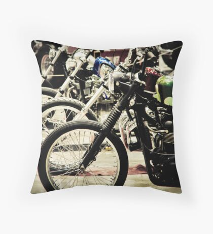 Easy Riders Throw Pillow