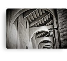 The Ivy arches - Franklin Field at Penn Canvas Print