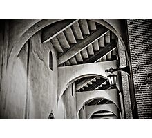 The Ivy arches - Franklin Field at Penn Photographic Print