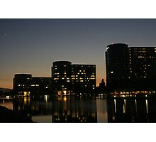 Oracle Headquarters at night Photographic Print