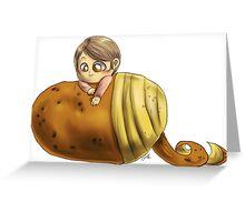 Hannibal vegetables - Potato Greeting Card