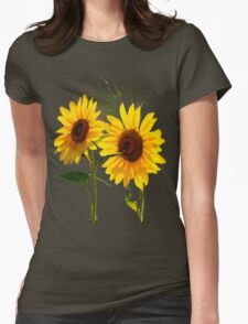 Double Sunshine Womens Fitted T-Shirt