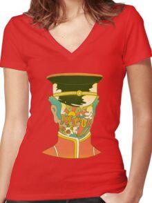 Dream on Women's Fitted V-Neck T-Shirt