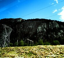 Rocky Knoll Telephone Lines by KidLiliefeldt