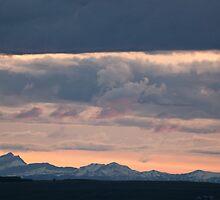 Sundown Okotoks by Judy Grant