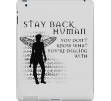 Stay Back iPad Case/Skin