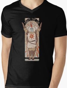 Praise the Sun Mens V-Neck T-Shirt