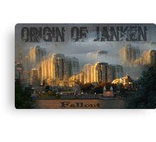 Origin Of Janken Canvas Print
