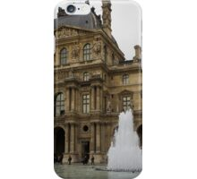 Of Pale Pastels and Palaces - the Louvre Courtyard in Paris iPhone Case/Skin