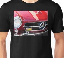 1958 Mercedes Benz 190SL in Red - Liquid Reflections Unisex T-Shirt