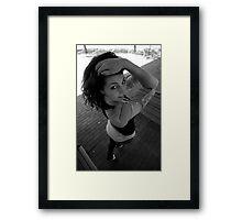 Sara Johnson. Framed Print