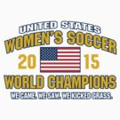 US Women's Soccer World Champs by Keez