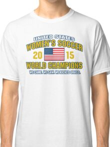 US Women's Soccer World Champs Classic T-Shirt