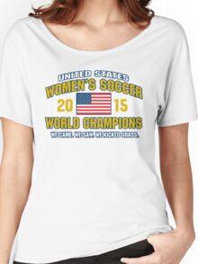 US Women's Soccer World Champs Women's Relaxed Fit T-Shirt