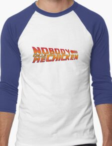 Back to the Future - Nobody Calls Me Chicken Men's Baseball ¾ T-Shirt