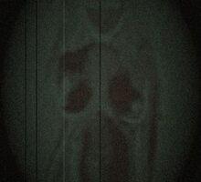 Dark Static Mirror by Ashley Huston
