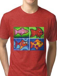 'Java Fish' Tri-blend T-Shirt