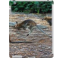 Jump Wallaby iPad Case/Skin
