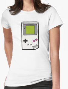 Retro Game Boy Womens Fitted T-Shirt