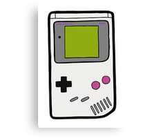 Retro Game Boy Canvas Print