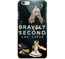 Bravely Second!! End Layer (Black Fairy Edition) iPhone Case/Skin