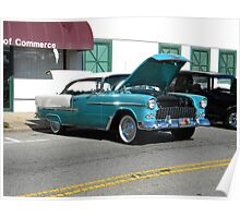 '55 Chevy Belair Poster