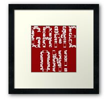 Game On! Framed Print