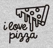 I Love Pizza by Kevin Peloquin