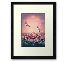 Find the Strength To Rise Up Framed Print