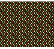 Hot Pepper Pattern Photographic Print