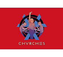 CHVRCHES Limited Edition Poster Photographic Print