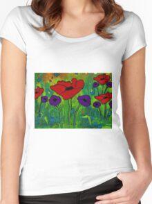 In Her Garden Women's Fitted Scoop T-Shirt