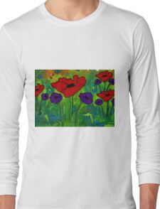 In Her Garden Long Sleeve T-Shirt