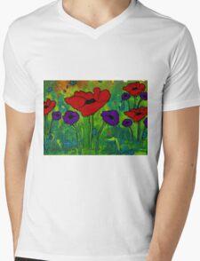 In Her Garden Mens V-Neck T-Shirt