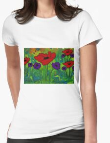 In Her Garden Womens Fitted T-Shirt